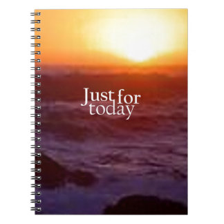 Just For Today Notebook