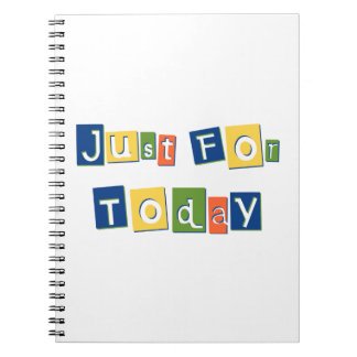 Just for Today Note Books