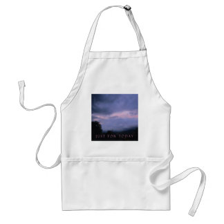 Just For Today Pink Clouds Adult Apron