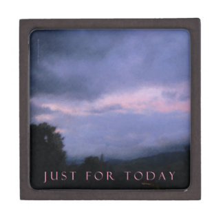 Just For Today Pink Clouds Gift Box