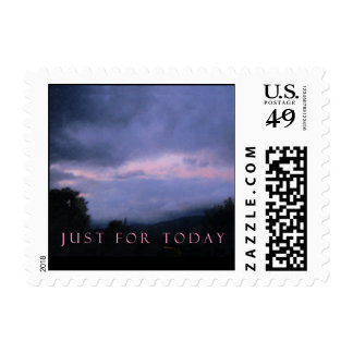 Just For Today Pink Clouds Stamp