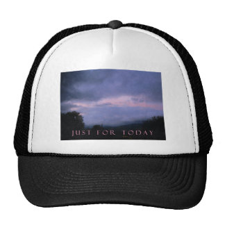 Just For Today Pink Clouds Trucker Hat