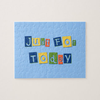 Just for Today Jigsaw Puzzles