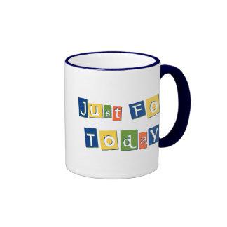 Just for Today Ringer Mug