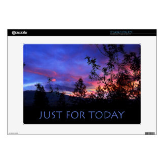 """Just For Today Spring Sunrise 15"""" Laptop Skins"""