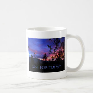 Just For Today Spring Sunrise Coffee Mug