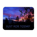 Just For Today Spring Sunrise Flexible Magnets
