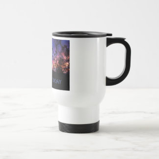Just For Today Spring Sunrise 15 Oz Stainless Steel Travel Mug