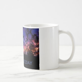 Just For Today Spring Sunrise Classic White Coffee Mug