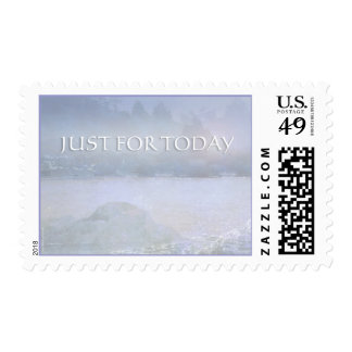 Just For Today Water, Rocks, Trees Postage