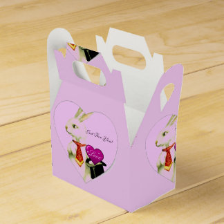 JUST FOR YOU BUNNY BOX- SPRING CELEBRATION-FAVOR FAVOR BOX