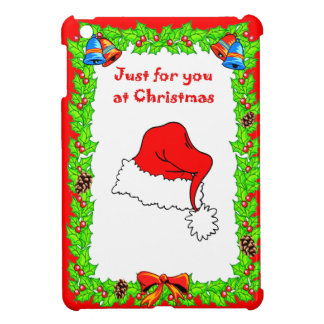 Just for you this Christmas, santa Hat iPad Mini Case