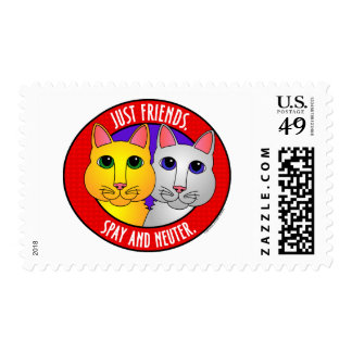 Just Friends-Cats Postage