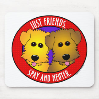 Just Friends-Dogs Mouse Pad