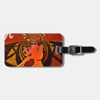 Just Funny Giraffe image design Bag Tag