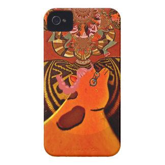 Just Funny Giraffe image design Case-Mate iPhone 4 Case