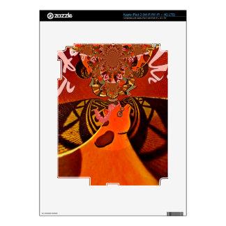 Just Funny Giraffe image design Skins For iPad 3