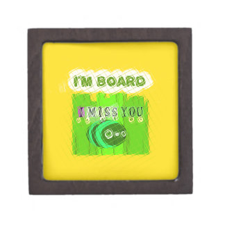 Just  Funny I Miss You I am Bored Gift Box