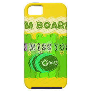 Just  Funny I Miss You I am Bored iPhone SE/5/5s Case