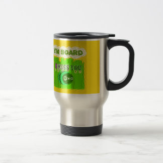 Just  Funny I Miss You I am Bored Travel Mug