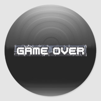 Just Game Over Stickers