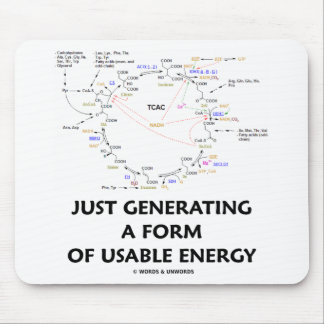 Just Generating A Form Of Usable Energy (Krebs) Mouse Pad