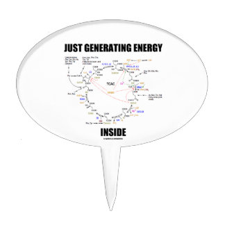 Just Generating Energy Inside Biochemistry Krebs Cake Topper