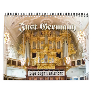 Just Germany - pipe organ calendar