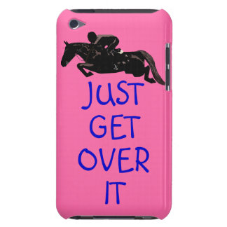Just Get Over It Horse Jumper iPod Touch Cases