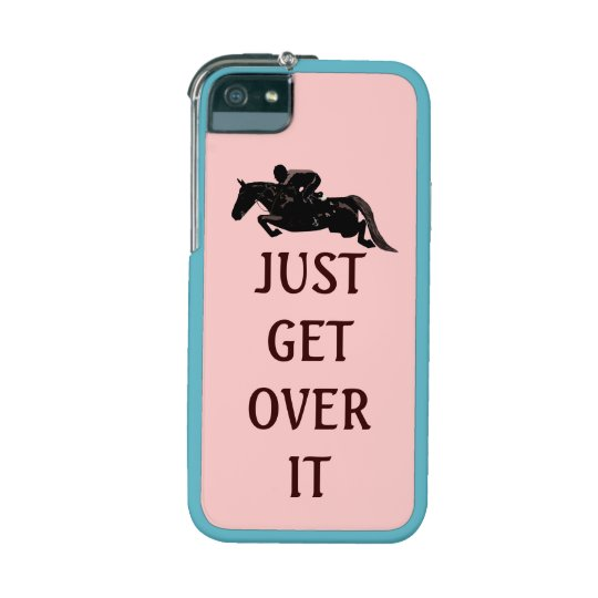 Just Get Over It Horse Jumping Phone SE/5/5s Case