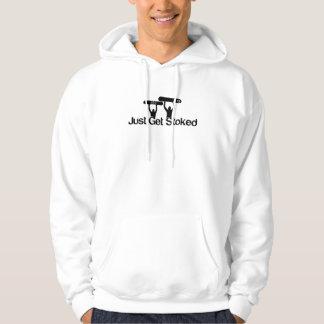 Just Get Stoked [snowboard hoodie] Hoodie