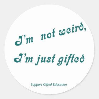 Just Gifted Sticker Sticker