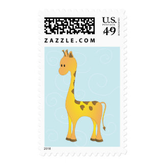 Just Giraffe Postage Stamps