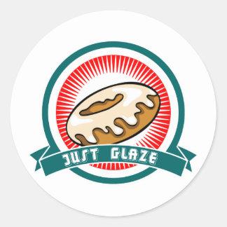 Just Glaze Classic Round Sticker