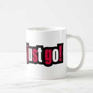 Just Go! Coffee Mugs