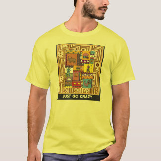 Just go crazy - Africa Art T-Shirt