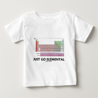 Just Go Elemental (Periodic Table Of Elements) Shirts