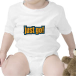 Just Go - Slang Sayings Quotes Rompers