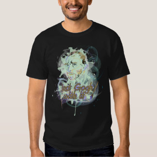 Just Go With It! Vincent van Gogh Tribute Design T-shirt
