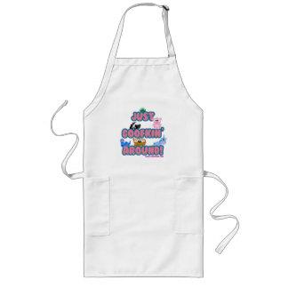 just goofkin around apron