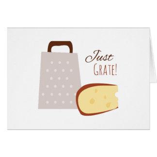 Just Grate Greeting Card