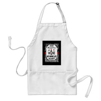 Just Hand Over the Wine Adult Apron