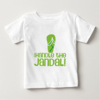 just handle the jandal! KIWI New Zealand funny say Baby T-Shirt