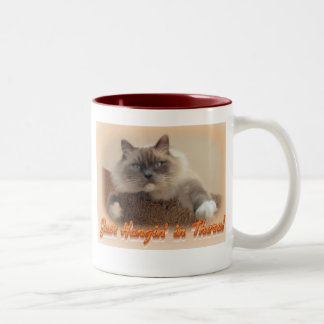 Just Hangin' in There! Two-Tone Coffee Mug