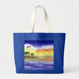 Just Hangin' Out Large Tote Bag