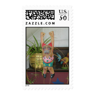 Just Hanging Around Kitty Postage