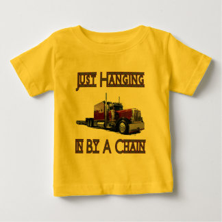 just hanging by a chain baby T-Shirt