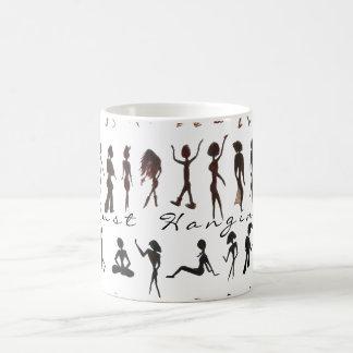 Just Hanging Classic White Coffee Mug