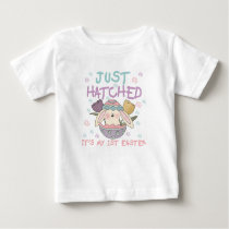 Just Hatched 1st Easter Tshirt