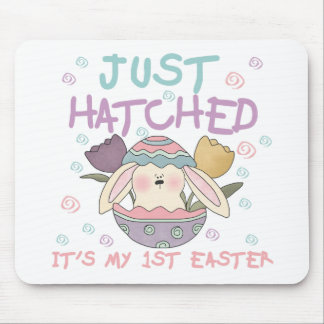 Just Hatched 1st Easter Tshirts and Gifts Mouse Pad